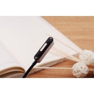 Усиленный магнитный зарядный кабель с индикацией заряда для Sony Xperia Z1/Z Ultra/Z1 Compact/Z2/Z3/Z3 Compact Черный