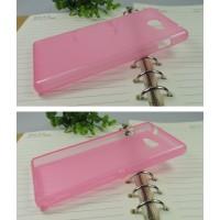Силиконовый чехол для Sony Xperia M2 Розовый