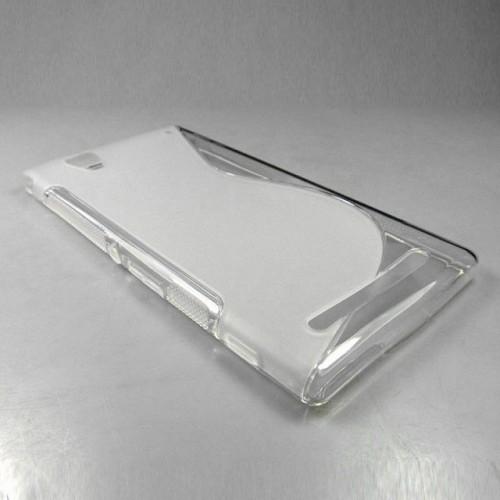 Силиконовый S чехол для Sony Xperia T2 Ultra (Dual)