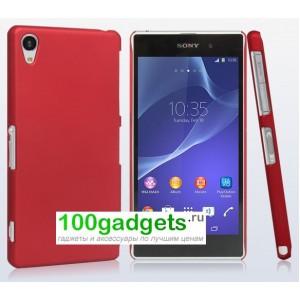 Пластиковый чехол для Sony Xperia Z2 Красный