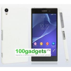 Пластиковый чехол для Sony Xperia Z2 Белый
