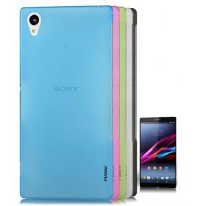 Пластиковый полупрозрачный чехол для Sony Xperia Z2
