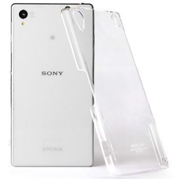 Пластиковый транспарентный чехол для Sony Xperia Z2