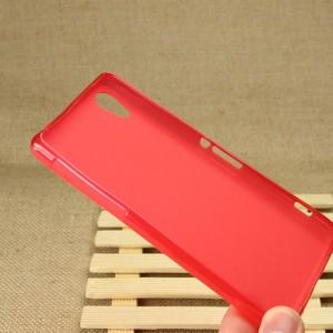 Силиконовый чехол для Sony Xperia Z2 Красный