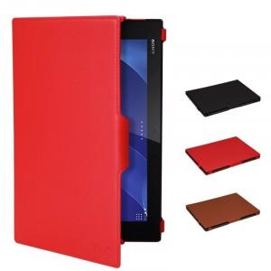 Чехол подставка текстурный для Sony Xperia Z2 Tablet