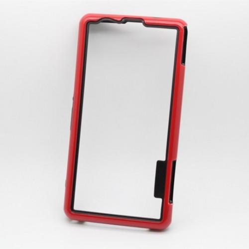 Силиконовый усиленный бампер для Sony Xperia Z1 Compact