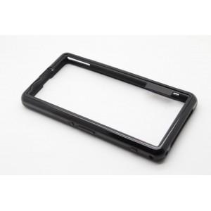 Силиконовый усиленный бампер для Sony Xperia Z1 Compact Черный