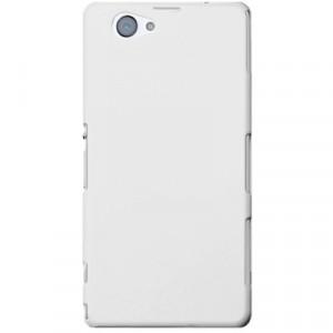 Пластиковый чехол для Sony Xperia Z1 Compact Белый