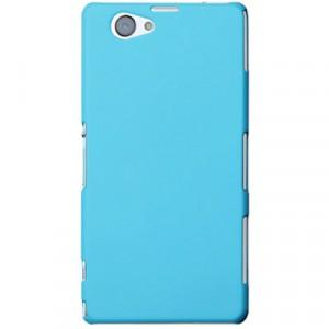 Пластиковый чехол для Sony Xperia Z1 Compact Голубой