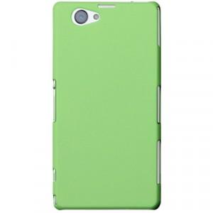 Пластиковый чехол для Sony Xperia Z1 Compact Зеленый