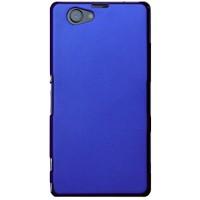Пластиковый чехол для Sony Xperia Z1 Compact Синий