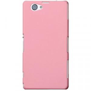 Пластиковый чехол для Sony Xperia Z1 Compact Розовый