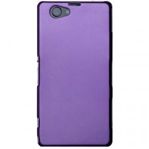 Пластиковый чехол для Sony Xperia Z1 Compact Фиолетовый