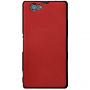 Пластиковый чехол для Sony Xperia Z1 Compact Красный