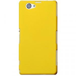 Пластиковый чехол для Sony Xperia Z1 Compact Желтый