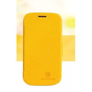 Чехол флип серия Colors для Samsung Galaxy Trend 2 II Duos Желтый