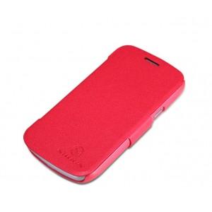 Чехол флип серия Colors для Samsung Galaxy Trend 2 II Duos Красный