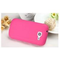 Силиконовый чехол для Samsung Galaxy Trend 2 II Duos Розовый