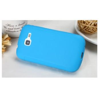 Силиконовый чехол для Samsung Galaxy Trend 2 II Duos Синий