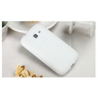 Силиконовый чехол для Samsung Galaxy Trend 2 II Duos Белый
