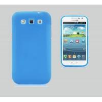 Силиконовый чехол для Samsung Galaxy Win GT-I8552 Голубой