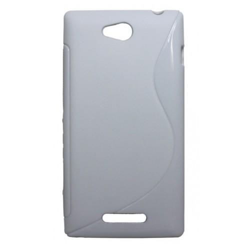 Силиконовый чехол S для Sony Xperia C