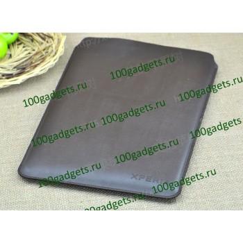 Чехол кожаный мешок для Sony Xperia Tablet Z Коричневый