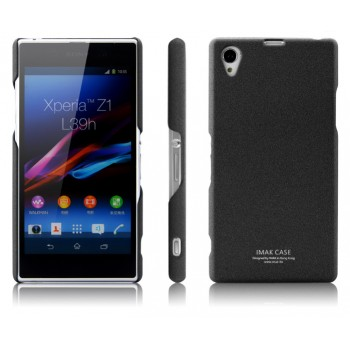 Пластиковый матовый чехол для Sony Xperia Z1