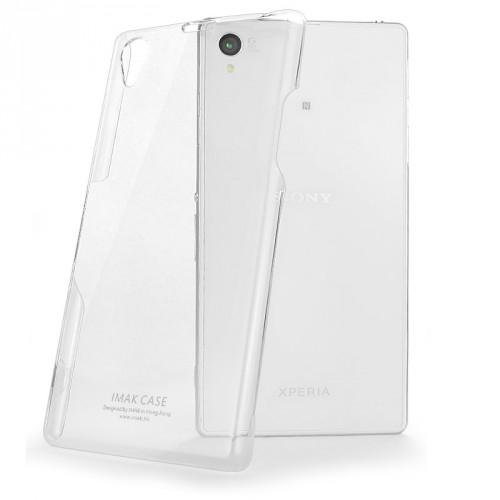 Пластиковый транспарентный чехол для Sony Xperia Z1