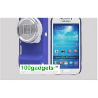 Пластиковый чехол для Samsung Galaxy S4 Zoom Синий