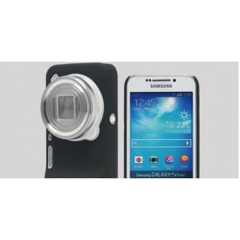 Пластиковый чехол для Samsung Galaxy S4 Zoom Черный