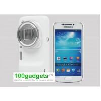 Пластиковый чехол для Samsung Galaxy S4 Zoom Белый