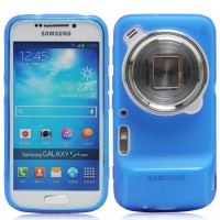 Силиконовый чехол для Samsung Galaxy S4 Zoom Синий