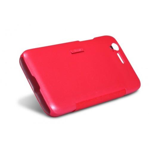 Флип горизонтальный чехол для ZTE Grand S Красный