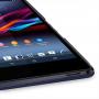 Накладка кожаная Back Cover (нат. кожа) для Sony Xperia Z Ultra синяя