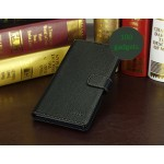 Кожаный чехол портмоне (нат. кожа) для Sony Xperia Z Ultra