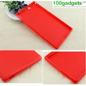 Силиконовый чехол для Sony Xperia Z Ultra Красный