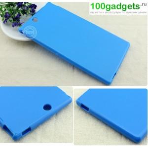 Силиконовый чехол для Sony Xperia Z Ultra Голубой