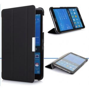 Чехол флип подставка сегментарный для Samsung Galaxy Tab Pro 8.4 Черный