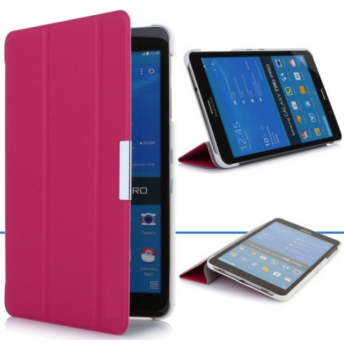 Чехол флип подставка сегментарный для Samsung Galaxy Tab Pro 8.4