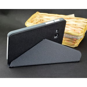 Чехол смарт флип подставка серия Origami для Samsung Galaxy Tab 3 Lite Черный