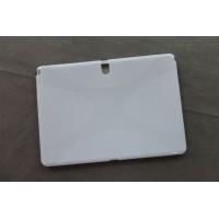 Силиконовый матовый X чехол для Samsung Galaxy Tab Pro 10.1 Белый