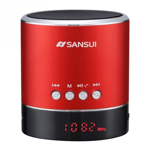 Беспроводной bluetooth динамик 3W с функцией FM приемника, разъемами AUX, USB и MicroSD