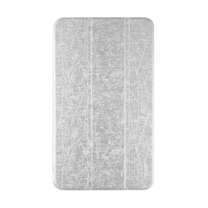 Текстурный чехол флип подставка сегментарный для ASUS MEMO Pad 8