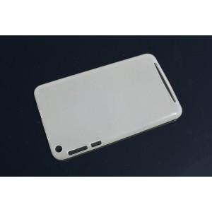 Силиконовый матовый полупрозрачный чехол для ASUS MEMO Pad 8