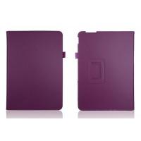 Чехол подставка с рамочной защитой для ASUS Transformer Pad TF303CL Фиолетовый