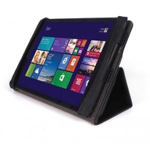 Чехол папка подставка с рамочной защитой (без клавиатуры) для Lenovo Miix 3 8