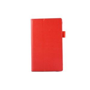 Чехол подставка с рамочной защитой для ASUS MeMO Pad 7 (ME572CL) Красный
