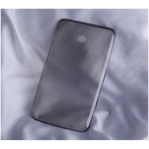 Силиконовый матовый полупрозрачный чехол для ASUS FonePad 7