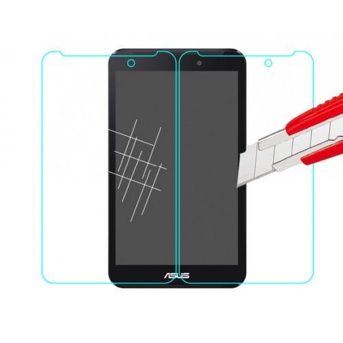 Ультратонкое износоустойчивое сколостойкое олеофобное защитное стекло-пленка для ASUS Fonepad 7 (FE171CG)